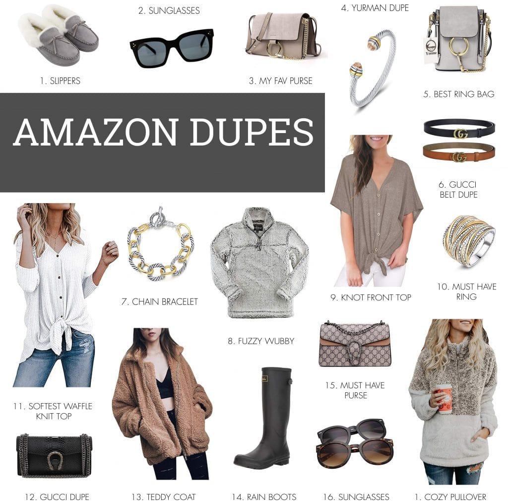 Amazon Designer Dupes