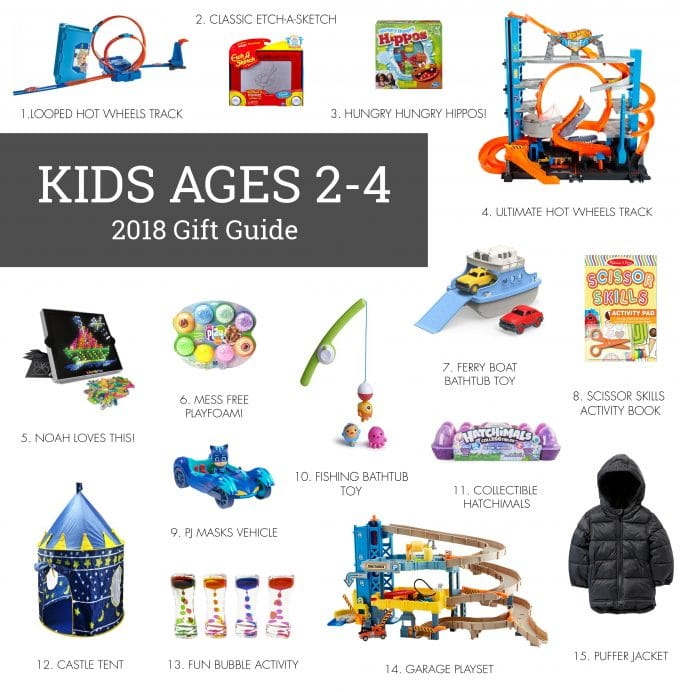 2018 Holiday Gift Guide: Kids Ages 2-4