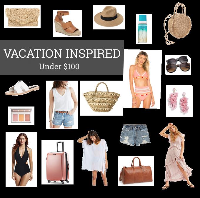 Spring 2019 Vacation Inspired Favorites Under $100