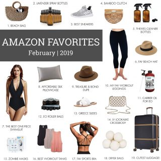 FEB AMAZON FAVS