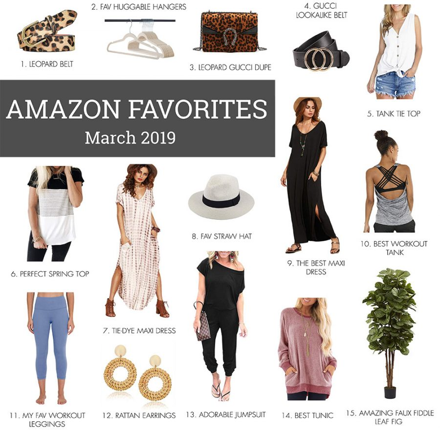 MARCH AMAZON FAVS