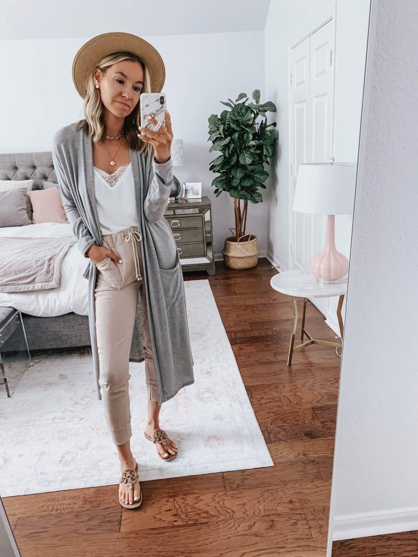 amaryllis grey cardigan