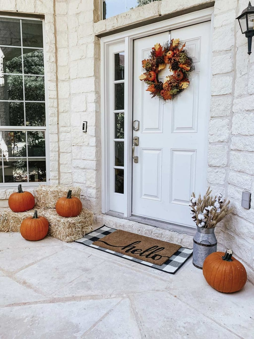 Walmart Decorations For Living Room: Fall Front Porch Decor From Walmart