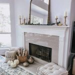 Affordable Fall Mantle Decor with Walmart