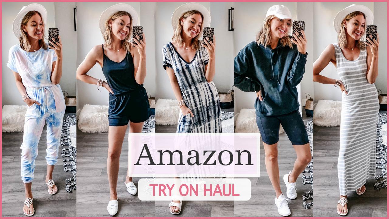 amazon try on haul