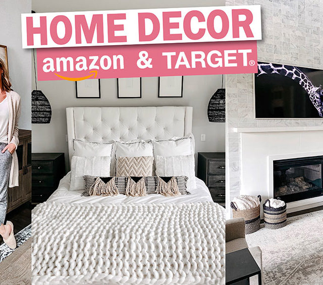 Amazon and Target Home Decor Video